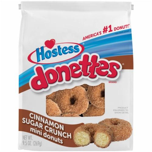 Hostess Cinnamon Sugar Crunch Mini Donettes Perspective: front