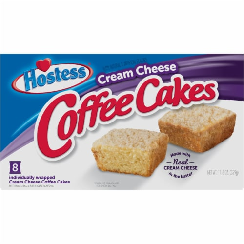 Hostess Cream Cheese Coffee Cakes Perspective: front