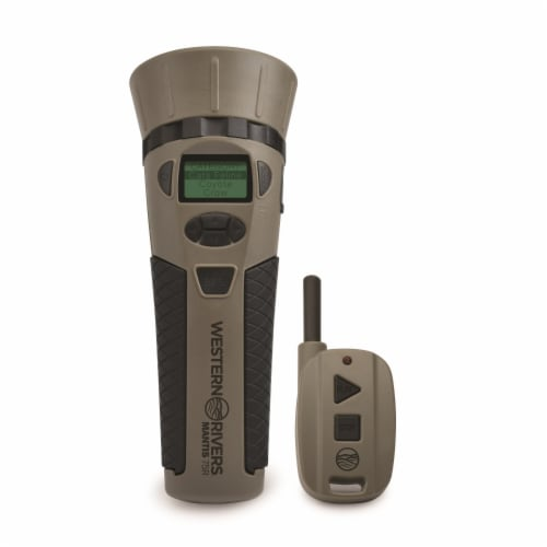 Western Rivers® Mantis 75R Electronic Game Calls Set Perspective: front