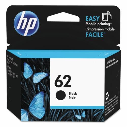 HP 62 Original Ink Cartridge - Black Perspective: front