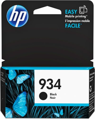 HP 934 Ink Cartridge - Black Perspective: front