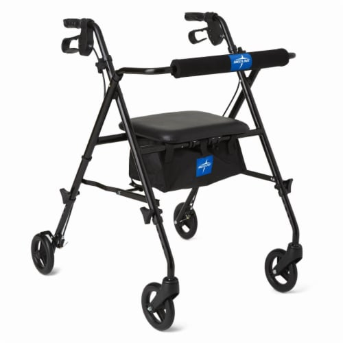 Medline Adjustable Rollator Perspective: front
