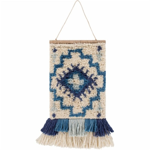 Surya SGO1001-2317 17 x 23 in. Santiago Hand Knotted Wall Hanging - 100 Percent Wool Perspective: front