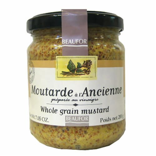Beaufor Whole Grain Mustard Perspective: front