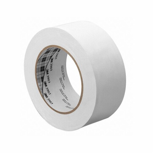 3m Duct Tape,White,1 in x 50 yd,6.5 mil  1-50-3903-WHITE Perspective: front