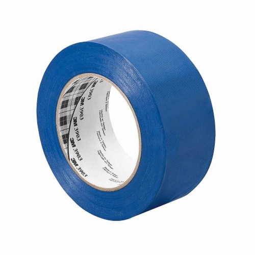 3m Duct Tape,Blue,1 1/2 in x 50 yd,6.5 mil  1.5-50-3903-BLUE Perspective: front