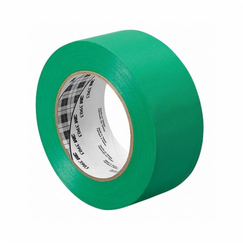 3m Duct Tape,Green,1 1/2 in x 50 yd,6.5 mil  1.5-50-3903-GREEN Perspective: front