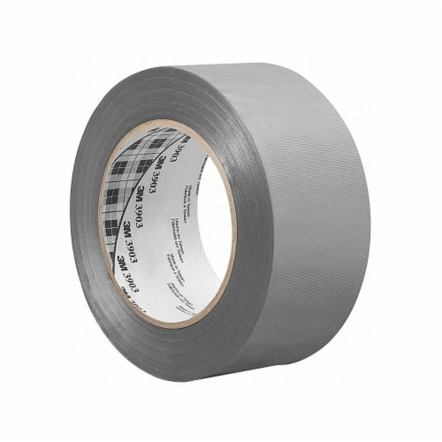 3m Duct Tape,Gray,1 1/2 in x 50 yd,6.5 mil  1.5-50-3903-GREY Perspective: front