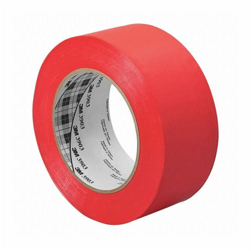 3m Duct Tape,Red,1 1/2 in x 50 yd,6.5 mil  1.5-50-3903-RED Perspective: front