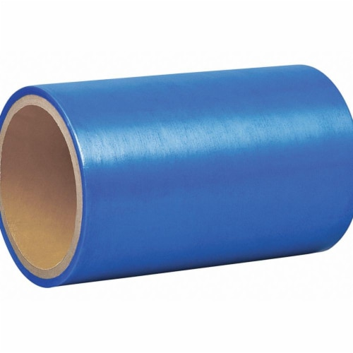 Sim Supply Film Tape,6 in x 8 1/4 yd,Blue,2 mil  2125B-6 X25' Perspective: front