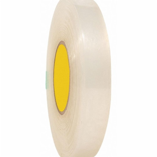Sim Supply Double Sided Tape,36 yd L,1/2  W  TC10110-0.5  X 36YD Perspective: front
