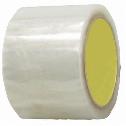Sim Supply Carton Sealing Tape,Hot Melt Resin,PK6  BST-16HM-72MMX100M-CLR(6PK) Perspective: front
