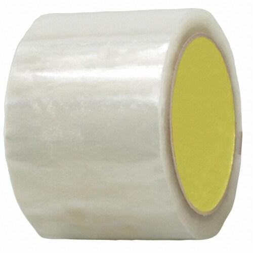 Sim Supply Carton Sealing Tape,Rubber,PK6  BST-16R-48MMX50M-CLR(6PK) Perspective: front