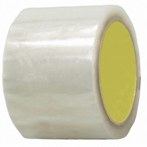 Sim Supply Carton Sealing Tape,Acrylic,PK6  BST-18A-72MMX50M-CLR(6PK) Perspective: front