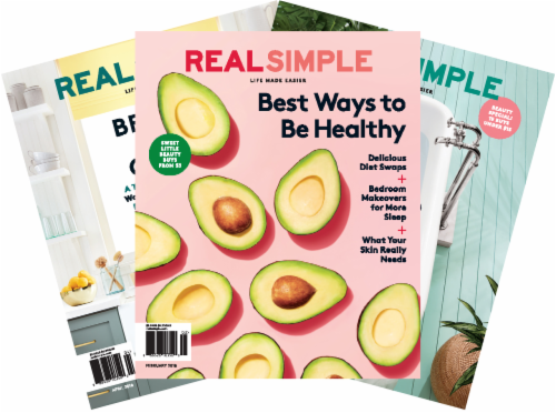 Real Simple Magazine Perspective: front