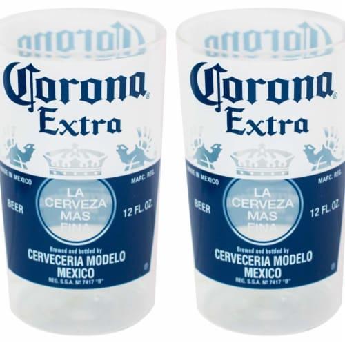 Corona® Extra 37583 Corona® Extra Replica Bottle Cups Set Perspective: front