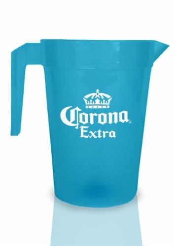 West Coast Novelty Corona Pitcher - Blue Perspective: front