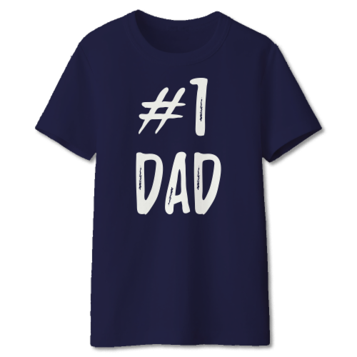 a3fba197f Kroger - West Coast Novelty Fathers Day #1 Dad T-Shirt - Assorted - Navy