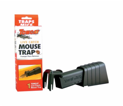 Tomcat® Live Catch Mouse Trap Perspective: front