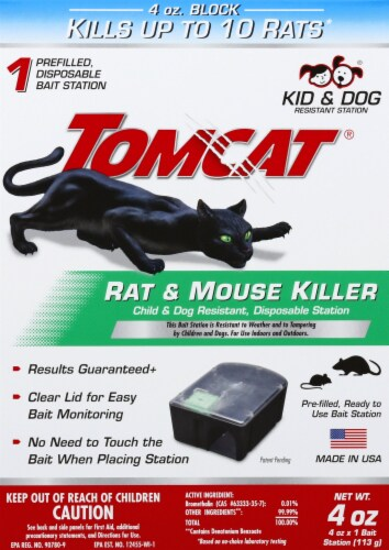 Tomcat® Rat & Mouse Killer Perspective: front