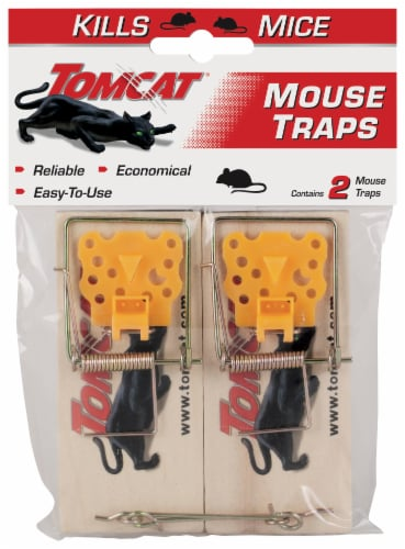 Tomcat® Wire MouseTraps Perspective: front