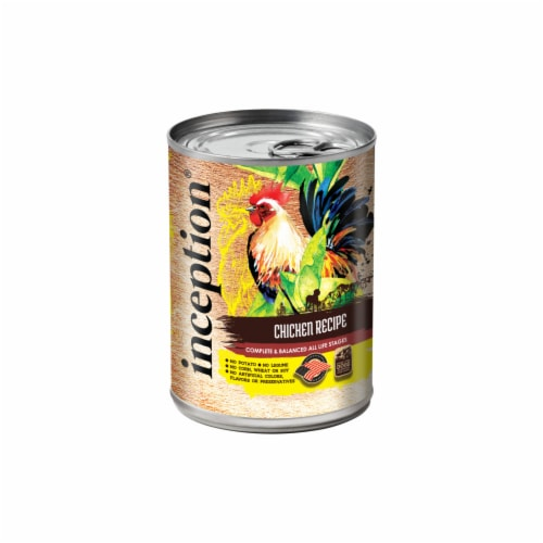 Inception 99313277 13 oz Dog Food Chicken Perspective: front