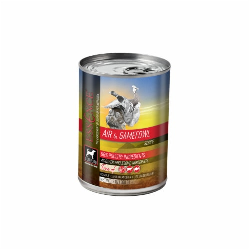 Pets Global ZS13504 13 oz Essence Grain Free Air & Gamefowl Dog Food, Pack of 12 Perspective: front
