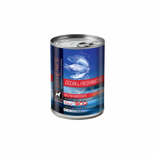 Pets Global ZS13516 13 oz Essence Ocean & Freshwater Canned Dog Food, Pack of 12 Perspective: front