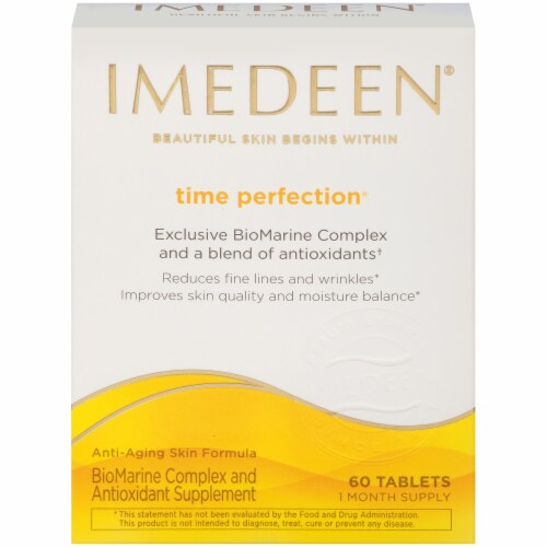 IMEDEEN Time Perfection BioMarine Complex & Antioxidant Supplement Tablets 60 Count Perspective: front