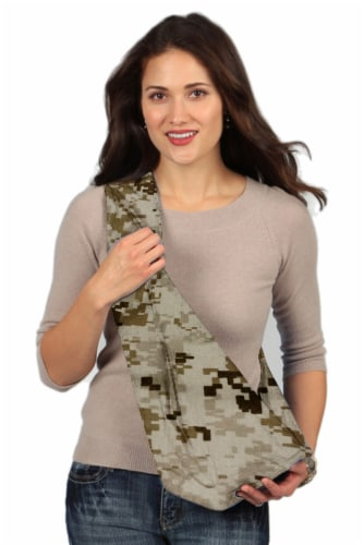Karma Baby Brown Military Camouflage Baby Sling - Small Perspective: front