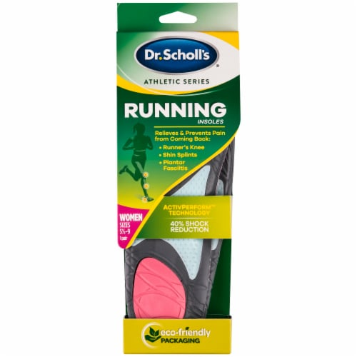Dr. Scholl's Athletic Series Running Women's Insoles Perspective: front