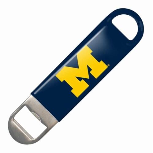 Michigan Wolverines Bottle Opener Perspective: front