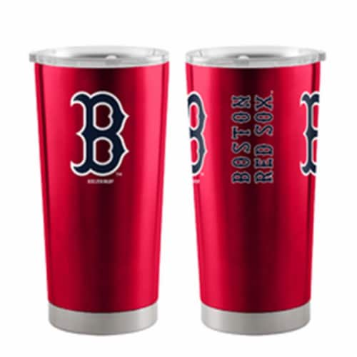Boston Red Sox Travel Tumbler 20oz Ultra Red Perspective: front