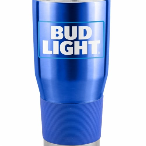 Bud Light 44694 Bud Light Metal Tumbler Cup - 30 oz Perspective: front