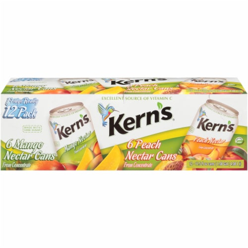 Kern's Mango & Peach Nectar Perspective: front