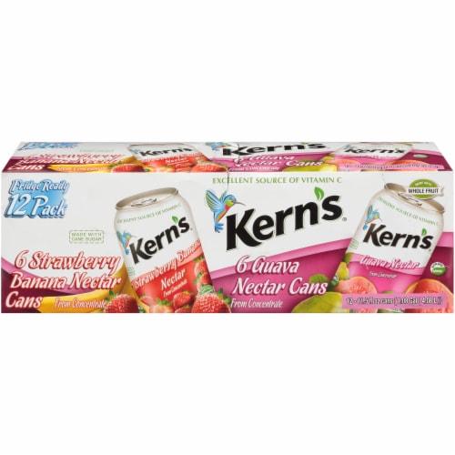 Kern's Strawberry Banana & Guava Nectar Perspective: front