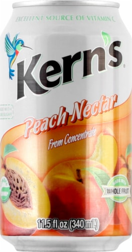 Kern's Peach Nectar Perspective: front