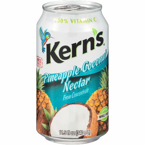 Kern's Pineapple Coconut Nectar Perspective: front