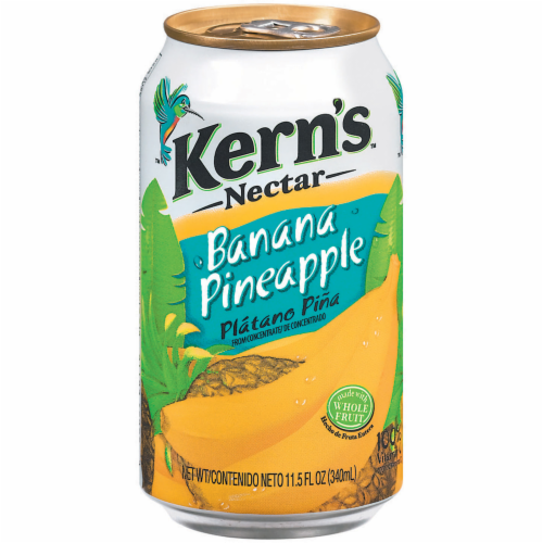Kern's Banana Pineapple Nectar Perspective: front