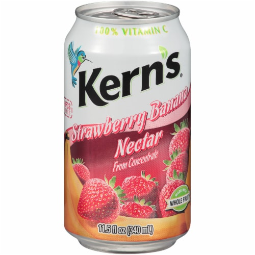 Kern's Strawberry Banana Nectar Perspective: front