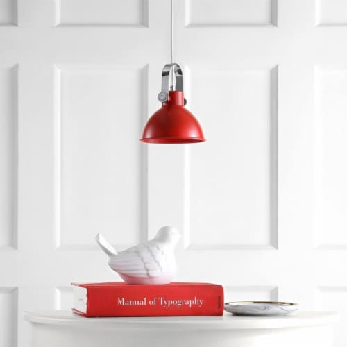 Rove Pendant Red Perspective: front