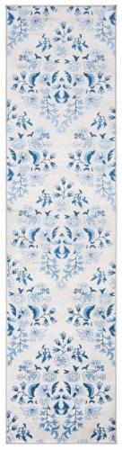 Safavieh Martha Stewart Brentwood Rug - Cream / Blue Perspective: front