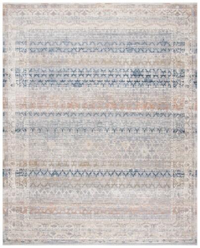Martha Stewart Maze Cosmopolitan Area Rug - Cream/Gray Perspective: front