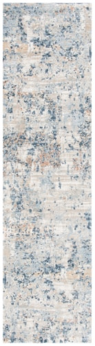 Martha Stewart Cosmopolitan Floor Runner Rug - Cream/Beige Perspective: front