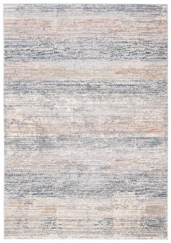 Martha Stewart Cosmopolitan Accent Rug - Cream/Light Gray Perspective: front