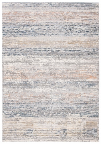 Martha Stewart Cosmopolitan Area Rug - Cream/Light Gray Perspective: front