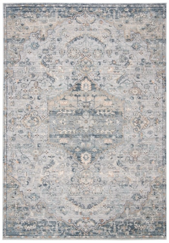 Martha Stewart Quarry Cosmopolitan Accent Rug - Cream/Gray Perspective: front