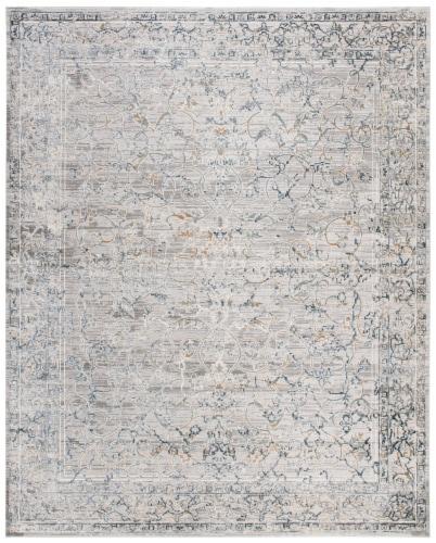 Martha Stewart Rye Cosmopolitan Area Rug - Cream/Gray Perspective: front