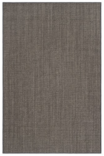 Safavieh Martha Stewart Natural Fiber Accent Rug - Charcoal Perspective: front