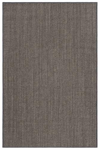 Martha Stewart Natural Fiber Area Rug - Charcoal Perspective: front